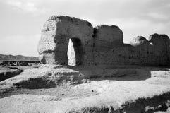αρχαίο city11 jiaohegucheng Στοκ Εικόνα