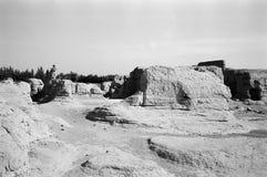 αρχαίο city13 jiaohegucheng Στοκ εικόνες με δικαίωμα ελεύθερης χρήσης