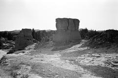 αρχαίο city8 jiaohegucheng Στοκ Εικόνες