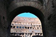 αρχαίο colosseum Ιταλία ρωμαϊκή Ρώμη Στοκ Φωτογραφία