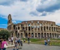 αρχαίο colosseum Ρωμαίος Στοκ φωτογραφία με δικαίωμα ελεύθερης χρήσης