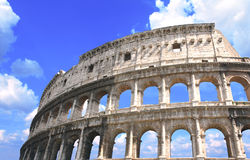 Αρχαίο Colosseum, Ρώμη, Ιταλία Στοκ Φωτογραφίες