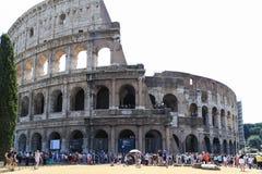 Αρχαίο colosseum στη Ρώμη, Ιταλία Στοκ Φωτογραφίες
