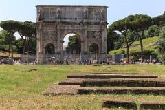 Αρχαίο colosseum στη Ρώμη, Ιταλία Στοκ εικόνες με δικαίωμα ελεύθερης χρήσης