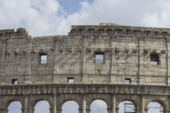 Αρχαίο Colosseum στη Ρώμη, Ιταλία Στοκ Εικόνες