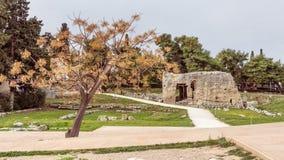Αρχαίο Corinth, Ελλάδα Στοκ Φωτογραφίες