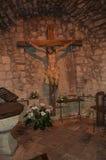 αρχαίο crucifix Στοκ εικόνα με δικαίωμα ελεύθερης χρήσης