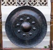 Αρχαίο gong Στοκ Φωτογραφία