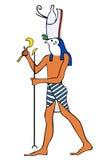 αρχαίο horus Θεών της Αιγύπτου ελεύθερη απεικόνιση δικαιώματος