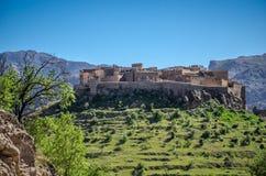 Αρχαίο Kasbah στο νότιο Μαρόκο Στοκ φωτογραφία με δικαίωμα ελεύθερης χρήσης