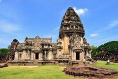 αρχαίο khmer άδυτο Ταϊλάνδη phimai phrang στοκ εικόνα