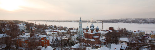 αρχαίο kostroma ρωσικά πόλεων Στοκ Φωτογραφίες