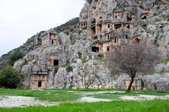 αρχαίο myra Τουρκία lycia Στοκ Φωτογραφίες