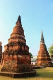 Αρχαίο Stupa σε Ayutthaya Στοκ Εικόνα