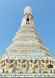 Αρχαίο Stupa σε Wat Arun Μπανγκόκ Στοκ εικόνες με δικαίωμα ελεύθερης χρήσης