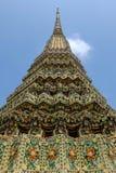 Αρχαίο Stupa σε Wat Pho Μπανγκόκ Στοκ Φωτογραφία
