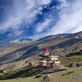 Αρχαίο stupa Bon σε Dolpo, Νεπάλ στοκ φωτογραφία με δικαίωμα ελεύθερης χρήσης
