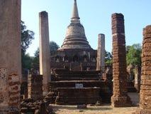 αρχαίο sukhothai καταστροφών Στοκ Φωτογραφία