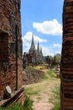 Αρχαίο wat στην Ταϊλάνδη Στοκ φωτογραφία με δικαίωμα ελεύθερης χρήσης