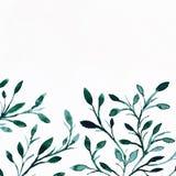 αρχαίο watercolor εγγράφου ανασκόπησης σκοτεινό κίτρινο Εικόνα λουλουδιών Στοκ εικόνες με δικαίωμα ελεύθερης χρήσης