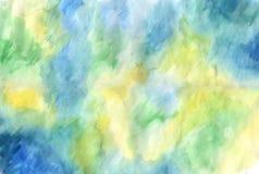 αρχαίο watercolor εγγράφου ανασκόπησης σκοτεινό κίτρινο Στοκ φωτογραφίες με δικαίωμα ελεύθερης χρήσης