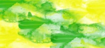 αρχαίο watercolor εγγράφου ανασκόπησης σκοτεινό κίτρινο Στοκ εικόνα με δικαίωμα ελεύθερης χρήσης