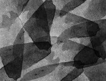αρχαίο watercolor εγγράφου ανασκόπησης σκοτεινό κίτρινο Στοκ Φωτογραφία