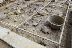 αρχαιολογική ανασκαφή στοκ φωτογραφία