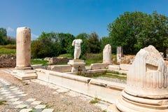 Αρχαιολογική περιοχή της πόλης Helenistic Aphrodisias στη δυτική Ανατολία, Τουρκία Στοκ φωτογραφία με δικαίωμα ελεύθερης χρήσης