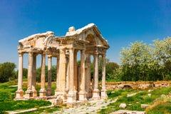 Αρχαιολογική περιοχή Aphrodisias στην Τουρκία Στοκ Φωτογραφίες
