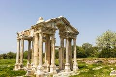 Αρχαιολογική περιοχή Aphrodisias στην Τουρκία Στοκ Εικόνες