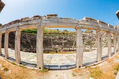 Αρχαιολογική περιοχή Aphrodisias στην Τουρκία Στοκ φωτογραφία με δικαίωμα ελεύθερης χρήσης