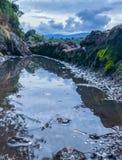 Αρχαιολογική περιοχή Tetzcotzinco υδραυλικών συστημάτων στοκ εικόνες με δικαίωμα ελεύθερης χρήσης
