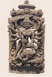 Αρχαιολογικό γλυπτό Mahisasuramardini από την ινδική μυθολογία στοκ εικόνες με δικαίωμα ελεύθερης χρήσης