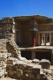 Αρχαιολογικό ορόσημο - παλάτι της Κνωσού στο νησί της Κρήτης, Ελλάδα, τον Απρίλιο του 2018 στοκ φωτογραφίες με δικαίωμα ελεύθερης χρήσης