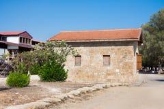 Αρχαιολογικό πάρκο της Kato Πάφος Πάφος, Κύπρος Στοκ Φωτογραφίες