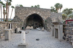 Αρχαιολογικά ευρήματα στο Ισραήλ Στοκ φωτογραφία με δικαίωμα ελεύθερης χρήσης