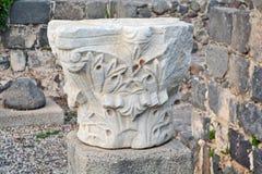 Αρχαιολογικά ευρήματα στο Ισραήλ Στοκ Φωτογραφία