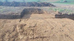 Αρχαιολογικές ανασκαφές Keltic Στοκ εικόνα με δικαίωμα ελεύθερης χρήσης