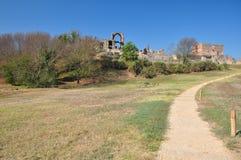 Αρχαιολογική περιοχή Ρώμη, dei Quintili, Appia Antica βιλών Στοκ Εικόνες