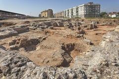 Αρχαιολογική περιοχή Cercadilla Στοκ Εικόνες