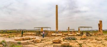 Αρχαιολογική περιοχή Pasargad Στοκ Φωτογραφίες
