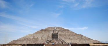 Αρχαιολογική περιοχή Teotihuacan, Μεξικό Στοκ εικόνα με δικαίωμα ελεύθερης χρήσης