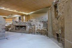 αρχαιολογικό πάρκο paphos kato ανασκαφών της Κύπρου Στοκ Φωτογραφίες