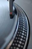 αρχείο βελόνων του DJ Στοκ φωτογραφία με δικαίωμα ελεύθερης χρήσης