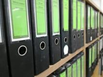 αρχείο εγγράφων Στοκ Φωτογραφία