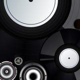 αρχείο μουσικής ανασκόπ&eta απεικόνιση αποθεμάτων