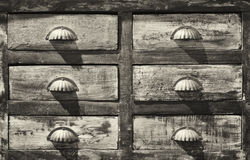 αρχειοθέτηση γραφείων παλαιά Στοκ Φωτογραφία