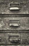 αρχειοθέτηση γραφείων παλαιά Στοκ φωτογραφία με δικαίωμα ελεύθερης χρήσης