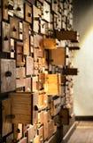 αρχειοθέτηση γραφείων παλαιά Στοκ Εικόνες